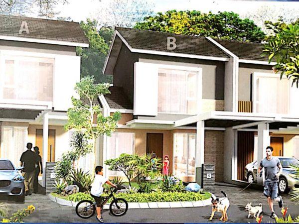 Dijual rumah Grand Taruma Cluster Kertanegara Tipe Kamala, Karawang, Jawa Barat